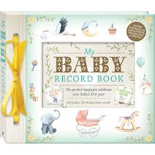 baby record book my baby record book deluxe baby and early learning books ireland