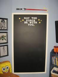 Star Wars Bedroom Paint Ideas Star Wars Chalkboard Ideas