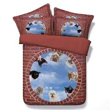 Cute Comforter Sets Queen 3d Cats Sheets Cute Comforter Sets Animal Bedding Queen Size Super