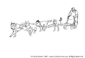 good sled dog coloring pages 70 on coloring site with sled dog