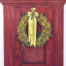 Christmas Decoration Ideas Home 42 Diy Christmas Wreaths How To Make A Holiday Wreath
