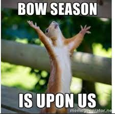 Bow Hunting Memes - deer bow hunting season starts october 19th in ma blackstone