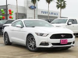mustang navigation 2017 ford mustang ecoboost premium 2dr car in port lavaca