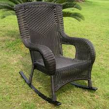 Plastic High Back Patio Chairs Darby Home Co Wellington Wicker Resin Aluminum High Back Patio