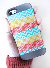 diy washi phone case imagine our life