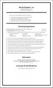 One Page Resume Samples by Professional Resume Cover Letter Sample Resume Sample For Lpn