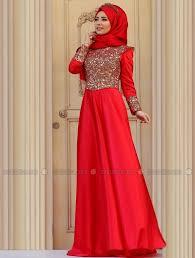 gaun muslim ragam koleksi model baju gaun muslim penarik hati