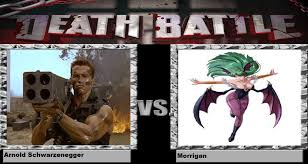 Arnold Schwarzenegger Memes - death battle arnold schwarzenegger vs morrigan by kart42 on