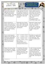 year 4 5 time word problems by hilly100m teaching resources tes