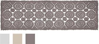 54 inch table runner amazon com heritage lace blue ribbon crochet table runner 16 by 54