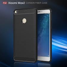shtl carbon tpu armor for xiaomi mi max 2 black