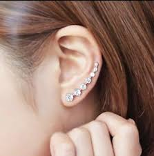 earrings uk 925 sterling silver stud earrings zircon 7 uk seller ear