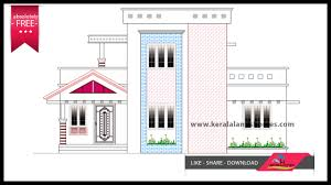 Home Elevation Design Free Download 1370 Sq Ft Free Kerala Home Design Plans Within Your Budgetreal
