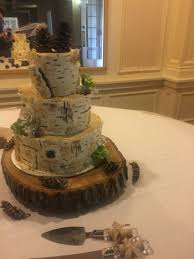 wedding cakes wi birch bark rustic wedding cake wisconsin wedding tree trunk cake