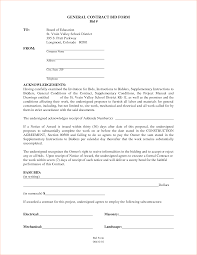 Awesome Collection Of General Contractor Contract Agreement Forms And Sample Business Contract Template