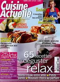 magazine cuisine actuelle cuisine actuelle n 231 tom press