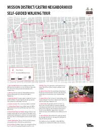Bart San Francisco Map Stations by Self Guided Tour Through The Mission District Rail Volution