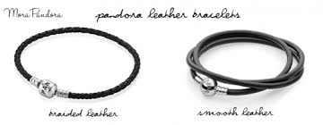 pandora black bracelet with charms images Feature pandora leather bracelets mora pandora png
