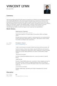 Site Engineer Resume Sample by Applications Engineer Resume Samples Visualcv Resume Samples
