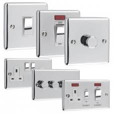 anti ligature light switch windsor range light switches sockets polished chrome white inserts