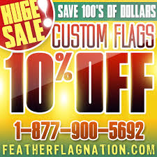 Custom Feather Flags Custom Feather Flags Huge Sale Discount Offer