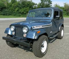 jeep commando hurst 1986 jeep cj 7 connors motorcar company