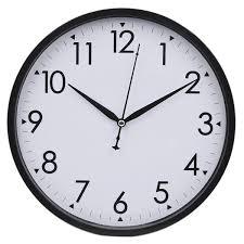 Barwick Clocks Amazon Com Hippih 10 Inch Silent Non Ticking Simple Wall Clock