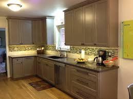 Taupe Cabinets Mt Washington Luwista Traditional Kitchen Cincinnati By