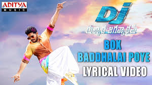 Box Songs Box Baddhalai Poye Song With Lyrics Dj Songs Allu Arjun