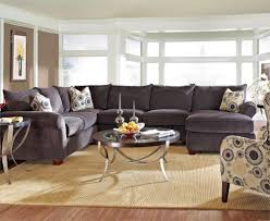 klaussner fletcher spacious sectional with chaise lounge wayside