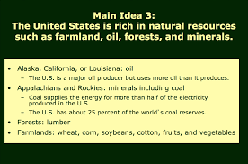 Half Of The United States The United States Notes Mr Peinert U0027s Social Studies Site