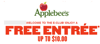applebees coupons on phone applebees e club free entree