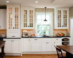 Kitchen Cabinets Around Refrigerator 87 Great Enchanting White Kitchen Cabinet Doors With Frosted Glass