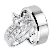 wedding rings his and hers matching sets wedding ring sets for him