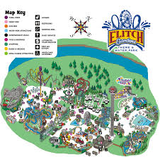 Chicago Botanic Garden Map by Elitch Gardens Fun Things To Do After Class Pinterest Garden