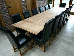 Large Dining Room Table Seats 12 12 Seating Dining Room Tables Jcemeralds Co