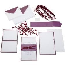 blank wedding invitation kits amulette jewelry