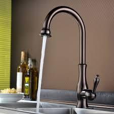kitchen faucet contemporary kitchen sink spout nickel kitchen