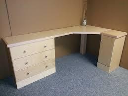 Build Your Own Corner Desk Maple Corner Desk Custom By Chris Davis Lumberjocks