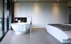 baignoire dans chambre hotel avec baignoire dans la chambre idées décoration intérieure