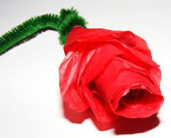 Paper Roses Tissue Paper Rose