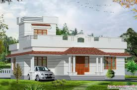 new 2bhk single floor home plan with kerala design and 2017