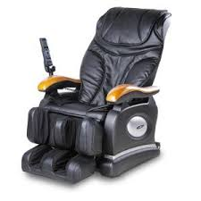 Massage Armchair Recliner Icomfort Black Faux Leather Reclining Massage Chair Ic1118 The