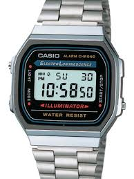 bracelet digital watches images Casio illuminator mens digital alarm watch on stainless steel jpg