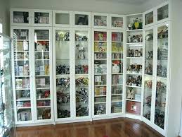 deep bookcase with doors billy bookcase with doors painted white