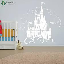 popular princess baby nursery buy cheap princess baby nursery lots fairy castle wall sticker for kids room girls baby bedroom wall decal kids nursery rooms princess