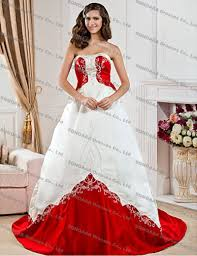 red and white wedding dresses plus size wedding short dresses