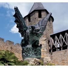 gargoyle home decor the castle gate gargoyle statue os6767 design toscano