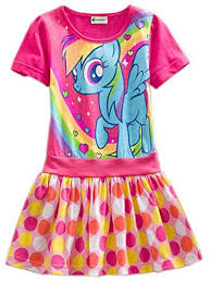 yuting girls my little pony dress dot short sleeve 3 8y apparel