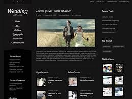 best wedding album website 20 best wedding website templates css html ginva